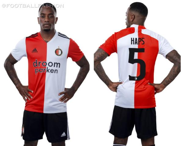 Feyenoord Rotterdam 2020 2021 adidas Home Football Kit, Soccer Jersey, Shirt, Tenue, Thuisshirt, Thuistenue