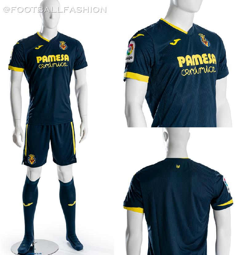 Villarreal Cf 2020 21 Joma Home Away And Third Kits Football Fashion