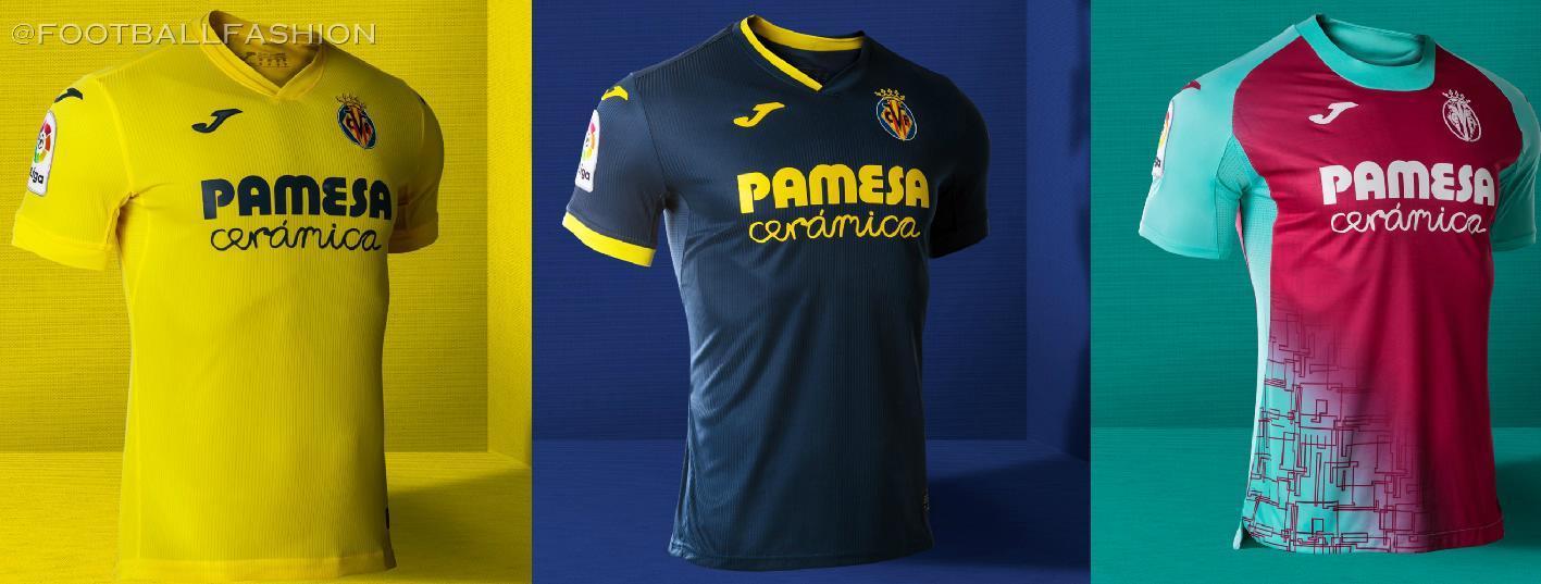 Villarreal Cf 2020 21 Joma Home Away And Third Kits Football Fashion