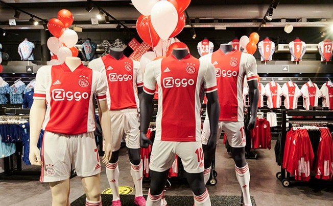 AFC Ajax 2020 2021 adidas Home Football Kit, 2020-21 Shirt, 2020/21 Soccer Jersey, Thuisshirt
