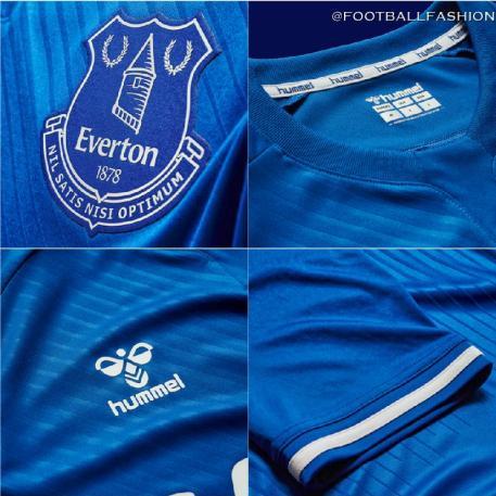 Everton FC 2020 2021 hummel Home Football Kit, 2020-21 Shirt, 2020/21 Soccer Jersey, Camisa, Camiseta, Trikot, Maillot