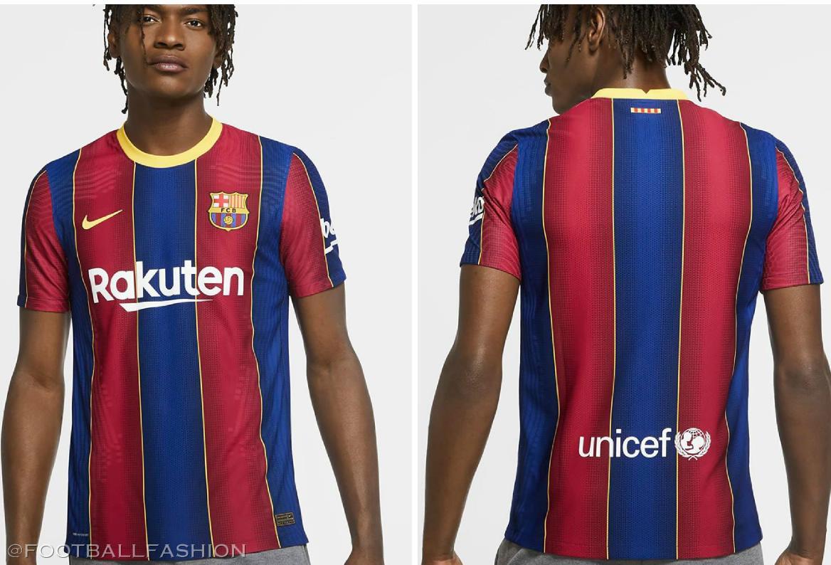 Fc Barcelona 2020 21 Nike Home Kit Football Fashion