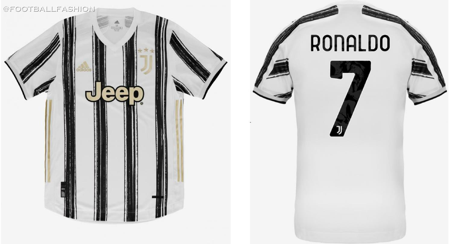 Juventus 2020 21 Adidas Home Kit Football Fashion