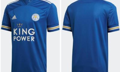 Leicester City 2020 2021 adidas Home Football Kit, 2020/21 Soccer Jersey, 2020-21 Shirt