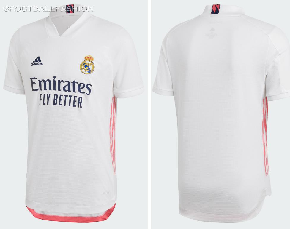 Real Madrid 2020/21 adidas Home and Away Kits - FOOTBALL ...