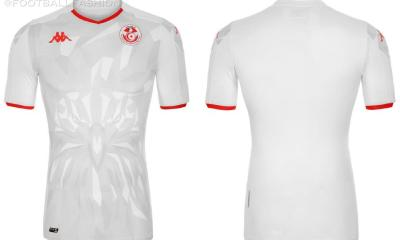 Tunisia 2020 2021 Kappa Home and Away Football Kit, 2020/21 Soccer Jersey, 2020-21 Shirt, Maillot Tunisie