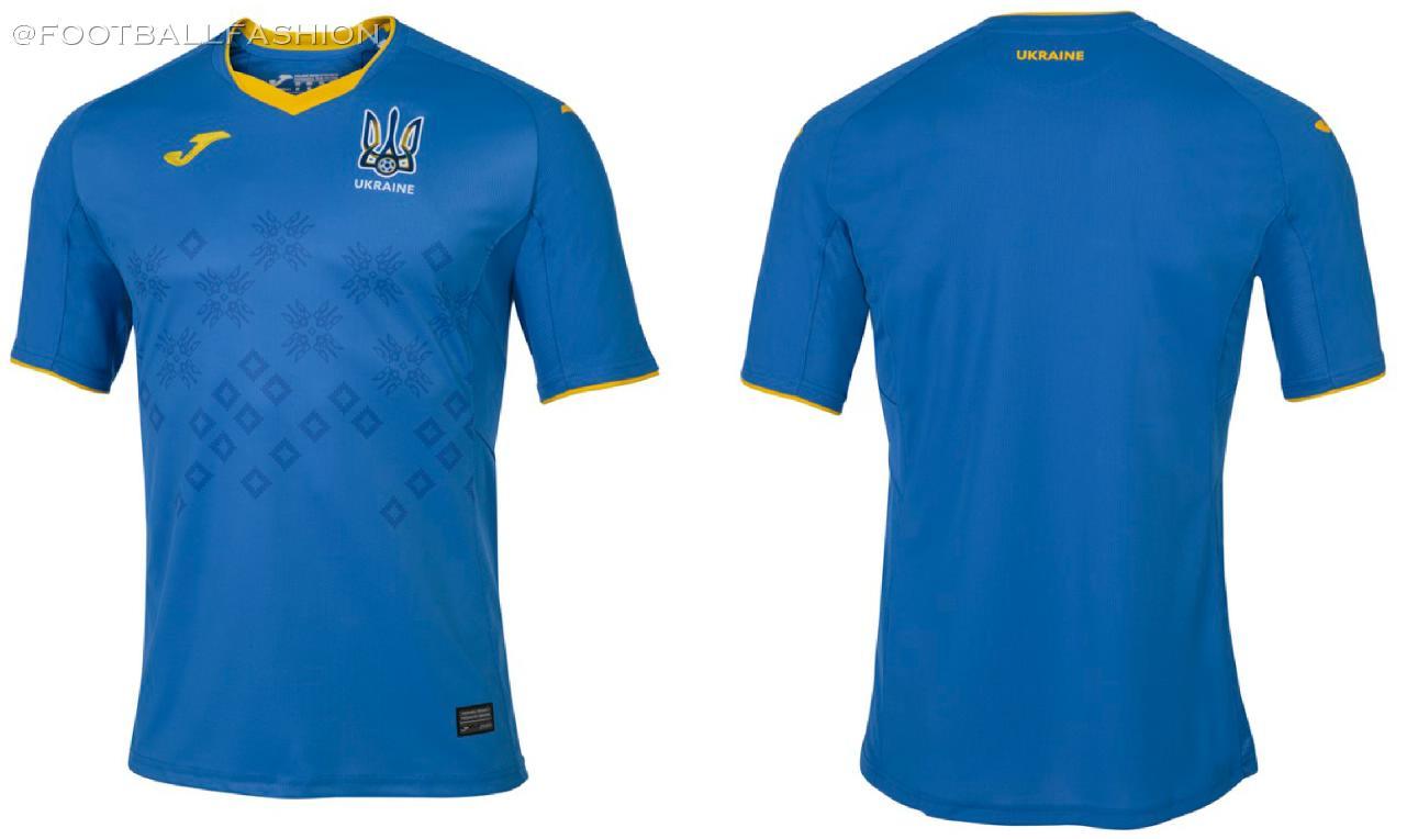 Ukraine 2020 21 Joma Home And Away Kits Football Fashion Org