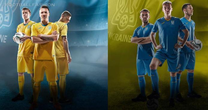 Ukraine 2020 2021 Joma Home and Away Football Kit, 2020-21 Shirt, 2020/21 Soccer Jersey