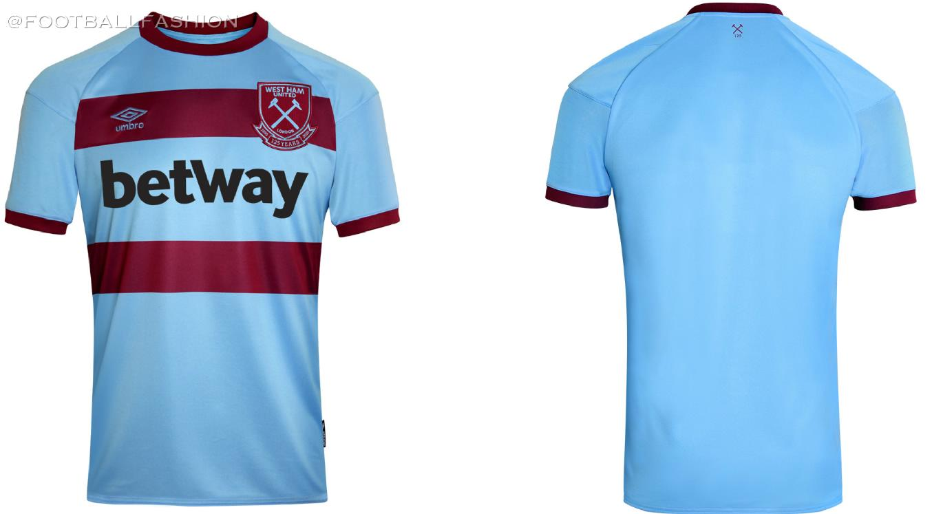 West Ham 2020 21 Umbro Away Kit Football Fashion Org