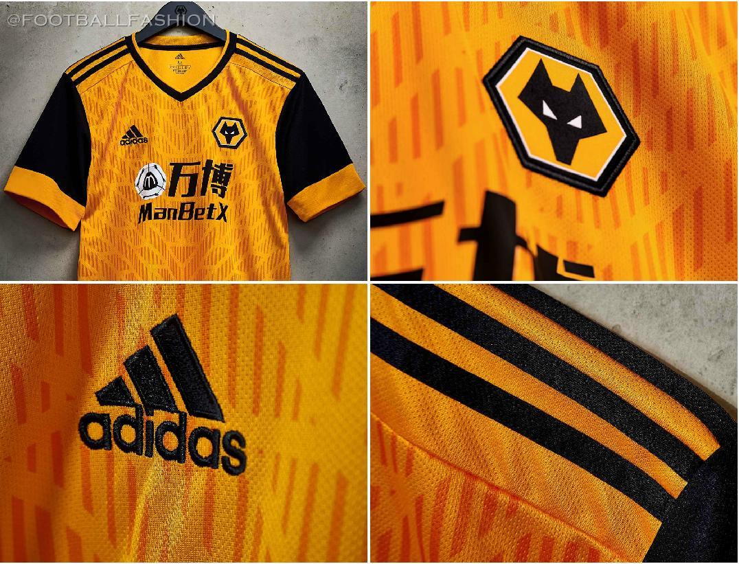 Wolverhampton Wanderers 2020/21 adidas Home Kit - FOOTBALL FASHION