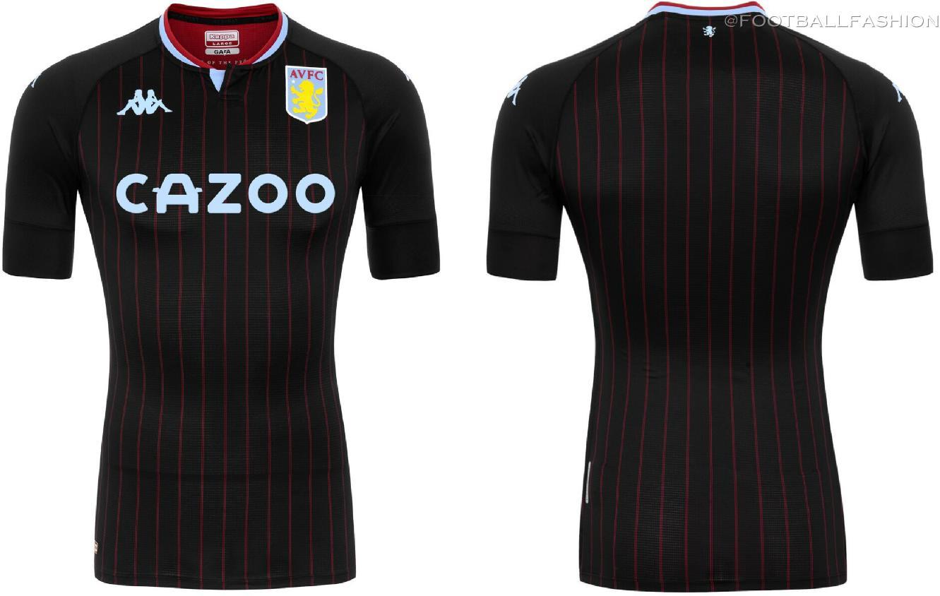 Aston Villa 2020/21 Kappa Away Jersey - FOOTBALL FASHION.ORG