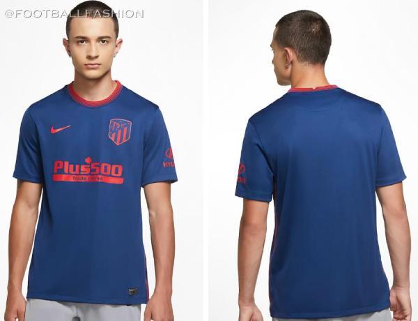 Atlético Madrid 2020 2021 Nike Away Football Kit, 2020-21 Soccer Jersey, Shirt, 2020/21 Camiseta de Futbol, Equipacion, Maillot, Trikot