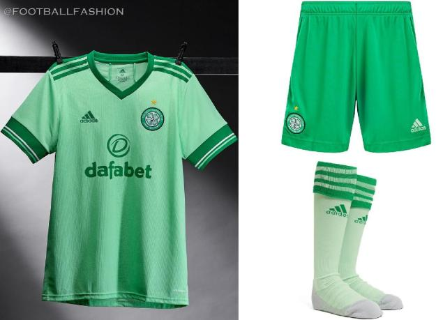 Celtic FC 2020 2021 adidas Away Football Kit, 2020-21 Soccer Jersey, 2020/21 Shirt