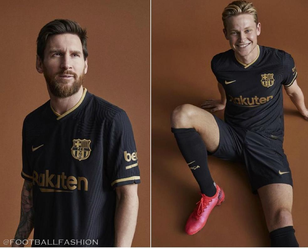 Fc Barcelona 2020 21 Nike Away Kit Football Fashion