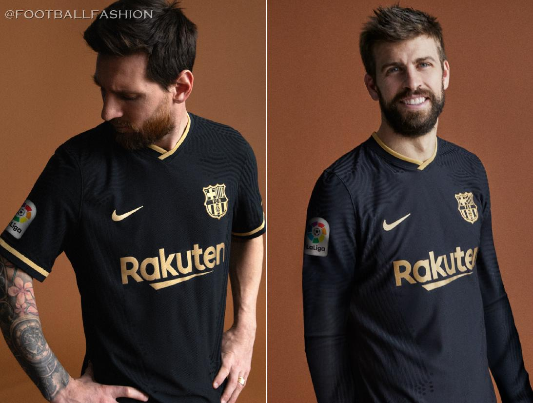 Fc Barcelona 2020 21 Nike Away Kit Football Fashion Org