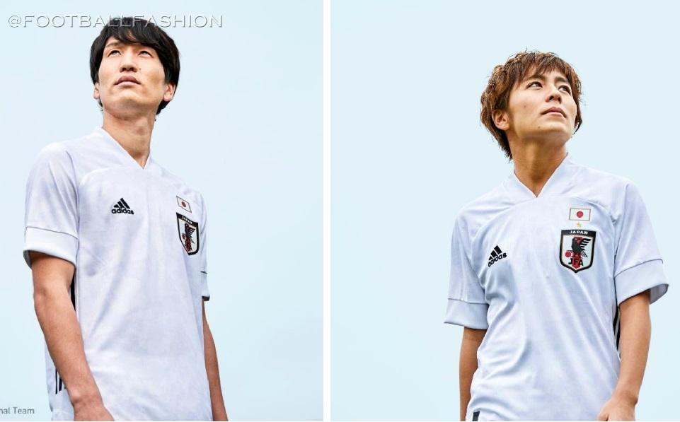 Japan 2020 2021 adidas White Away Football Kit, 2020-21 Soccer Jersey, 2020/21 Shirt