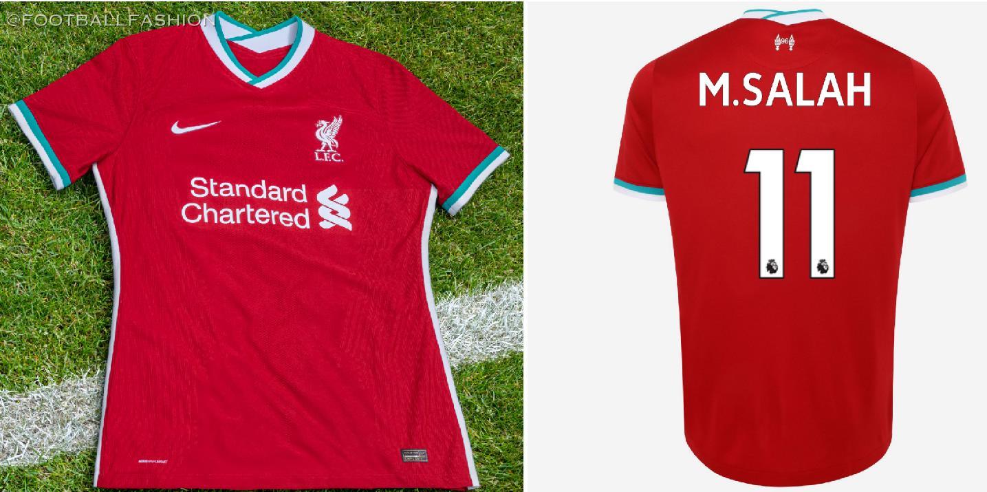Liverpool Fc 2020 21 Nike Home Kit Football Fashion
