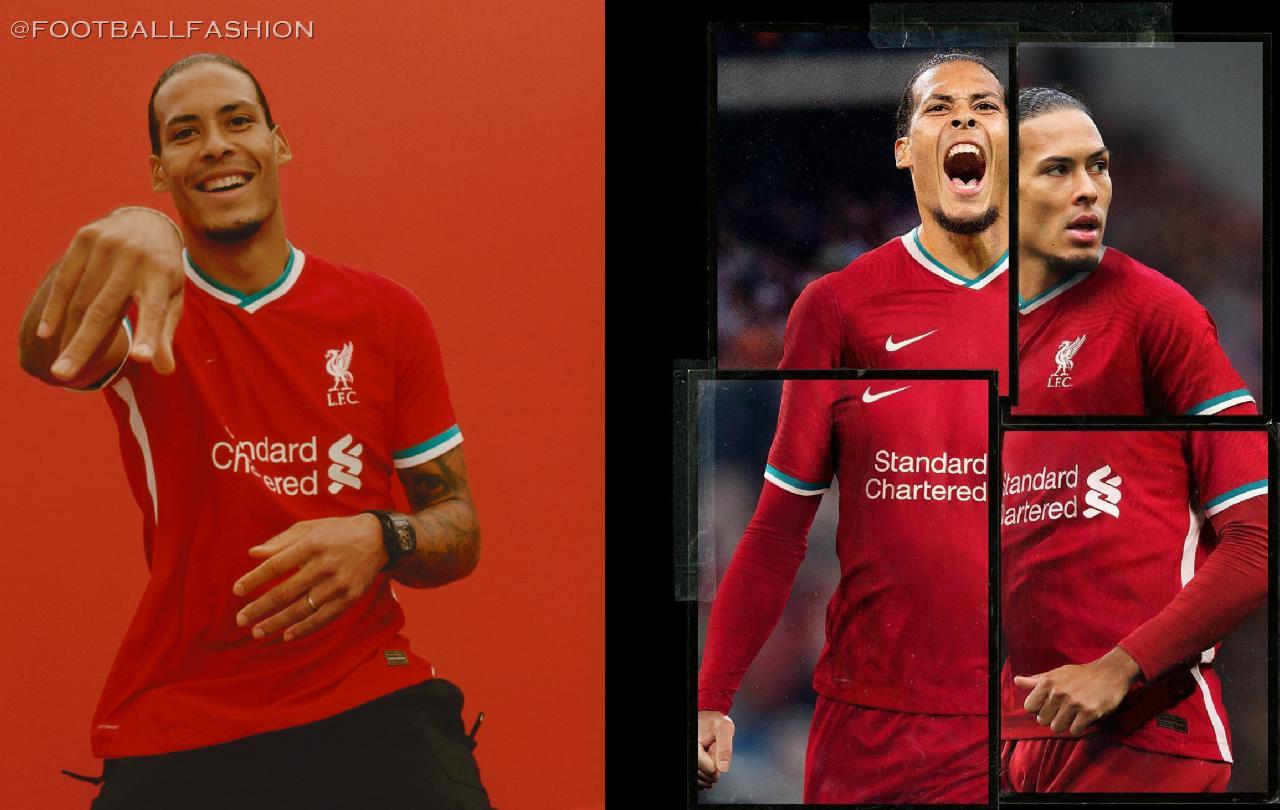 Liverpool Fc 2020 21 Nike Home Kit Football Fashion Org