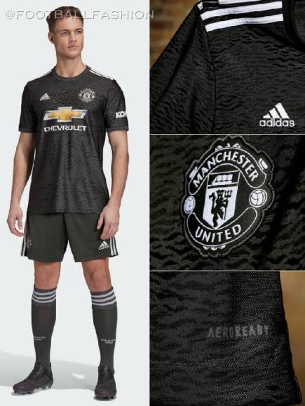 Manchester United 2020/21 adidas Away Football Kit, 2020-21 Soccer Jersey, 2020/21 Shirt, Camisa, Camiseta, Maillot, Trikot, Dres, Tenue, Maglia, Gara