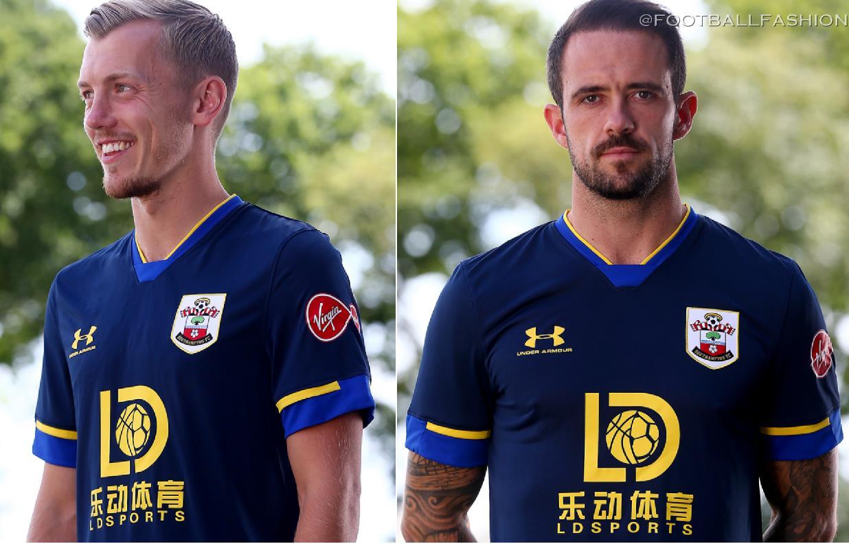 Southampton FC 2020/21 Under Armour Away Kit - FOOTBALL FASHION
