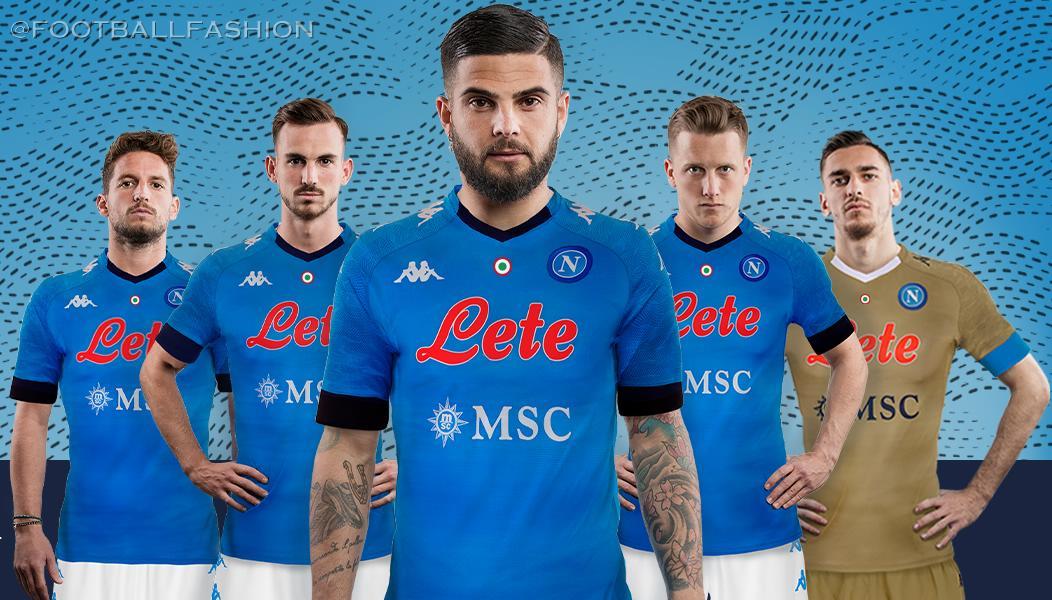 Ssc Napoli 2020 21 Kappa Home Away And Third Kits Football Fashion Org