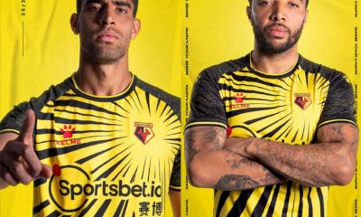 Watford 2020 2021 Kelme Home Kit, 2020-21 Football Kit, 2020/21 Soccer Jersey