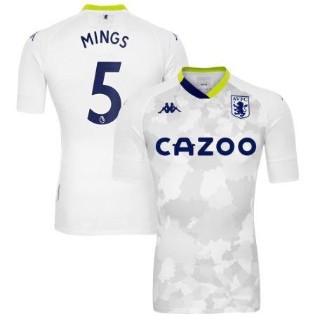 Aston Villa 2020 2021 Kappa Third Football Kit, 2020-21 Soccer Jersey, 2020/21 Shirt