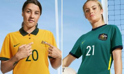 Australia 2020 2021 Nike Home and Away 2020/21 Football Kit, Soccer Jersey, 2020-21 Shirt