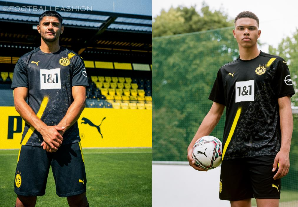 Borussia Dortmund 2020 21 Puma Away Kit Football Fashion Org