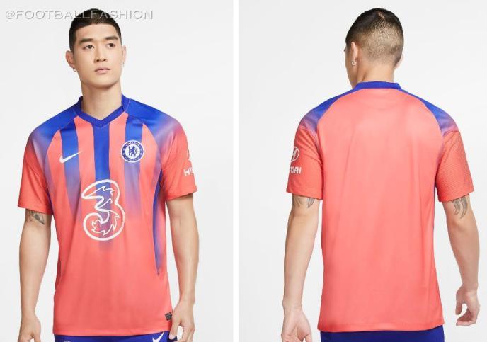 Chelsea FC 2020 2021 Nike Third Football Kit, 2020-21 Soccer Jersey, 2020/21 Shirt, Maillot, Camiseta, Camisa, Maglia, Gara, Trikot, Dres