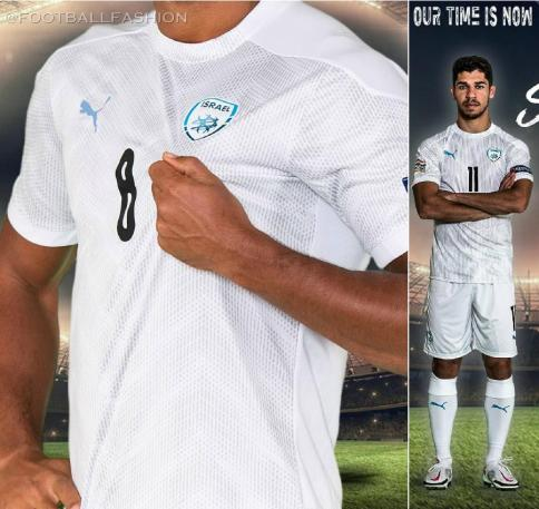 Israel 2020 2021 PUMA Home Football Kit, 2020/21 Soccer Jersey, 2020-21 Shirt