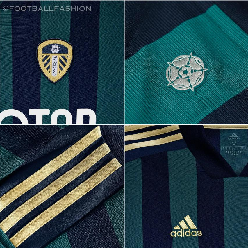 Leeds United 2020 21 Adidas Away Jersey Football Fashion Org