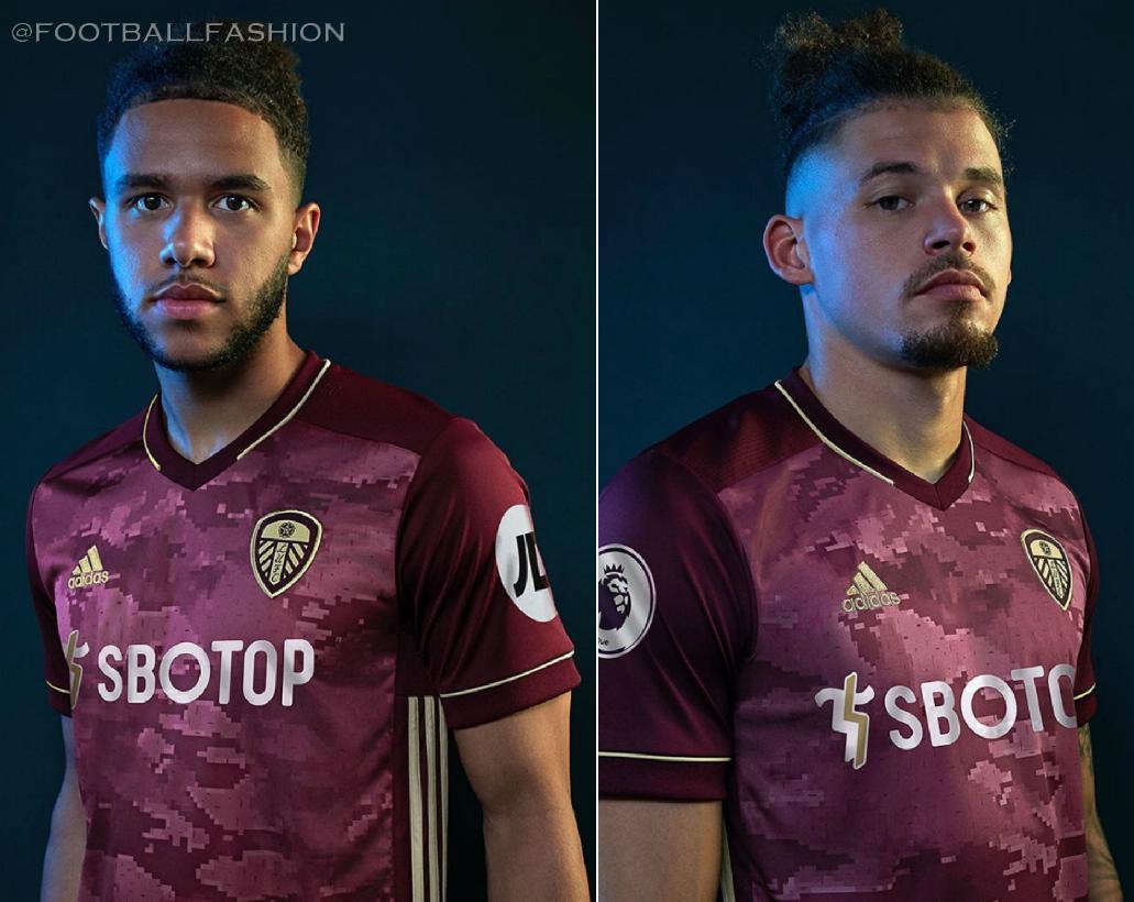 Leeds United 2020 21 Adidas Third Kit Football Fashion