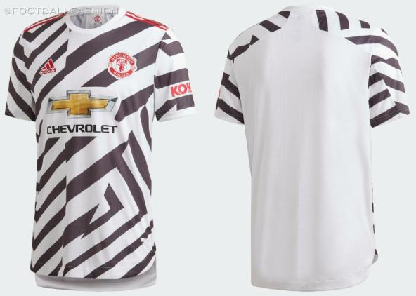 Manchester United 2020/21 adidas Striped Third Football Kit, 2020-21 Soccer Jersey, 2020/21 Shirt, Camisa, Camiseta, Maillot, Trikot, Dres, Tenue, Maglia, Gara