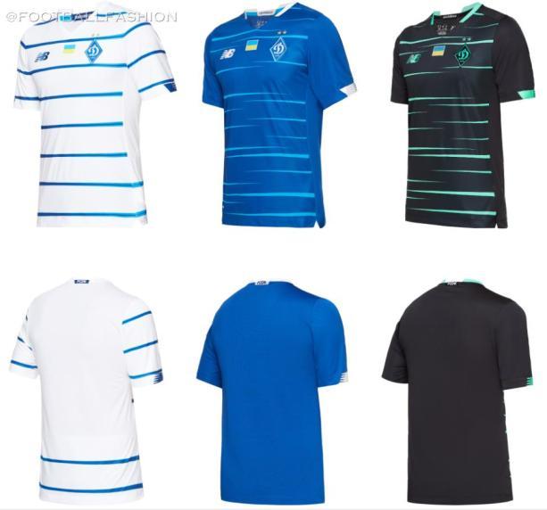Dynamo Kyiv 2020 2021 New Balance Home, Away and Third Football Kit, Soccer Jersey, Shirt