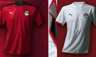 Egypt 2020 2021 PUMA Home and Away Football Kit, 2020-21 Soccer Jersey, 2020/21 Shirt