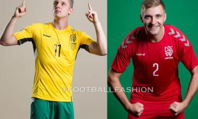 Lithuania 2020 2021 hummel Home and Away Football Kit, 2020-21 Soccer Jersey, 2020/21 Shirt, Lietuvos Futbolo Rinktinės Marškinėliai