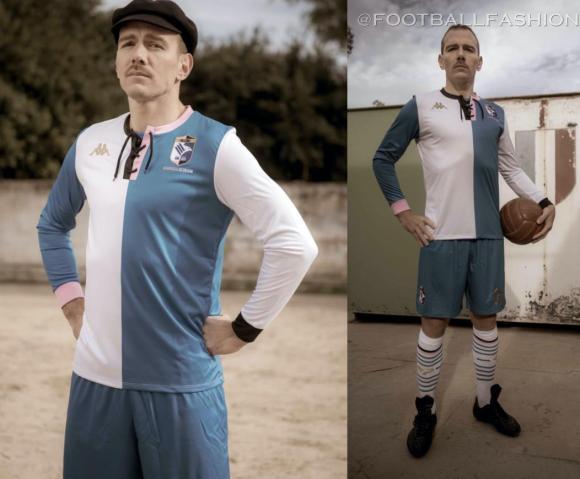 Palermo FC 120th Anniversary Kappa Football Kit, 2021 Soccer Jersey, Shirt, Maglia, Gara