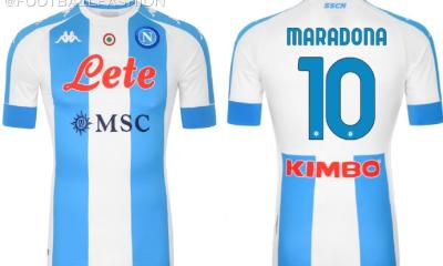 SSC Napoli 2020 2021 Maradona and Argentina-Inspired Fourth Football Kit, 2020-21 Shirt, 2020/21 Soccer Jersey, Camiseta, Gara, Maglia