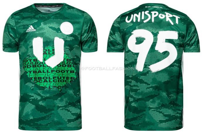 adidas x Unisport 25th Anniversary Tribute Pack 2020 2021 Soccer Jersey, Shirt, Football Kit