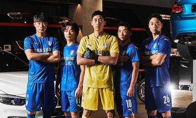 Suwon Samsung Bluewings 2021 PUMA Football Kit, Soccer Jersey Shirt