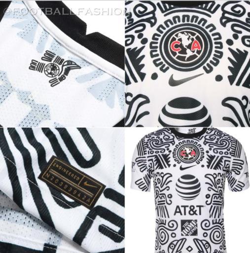 Club América 2021 Nike Third Soccer Jersey, Football Shirt, Kit, Camiseta Tercera de Futbol