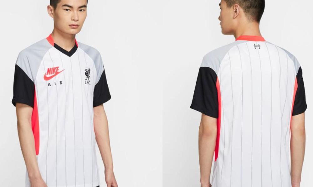 Liverpool FC 2021 Nike Air Max Soccer Jersey, Shirt, Football Kit, Camiseta