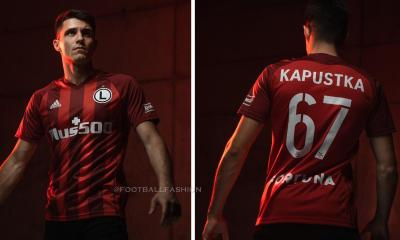 Legia Warsaw 2021 adidas Third Football Kit, Soccer Jersey, Shirt, Trzeci komplet, Koszulka Edycja limitowana
