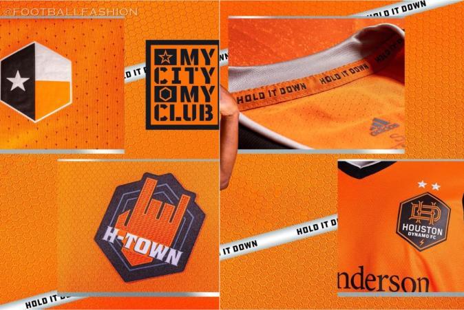 Houston Dynamo 2021 adidas Home Soccer Jersey, Football Kit, Shirt, Camiseta de MLS