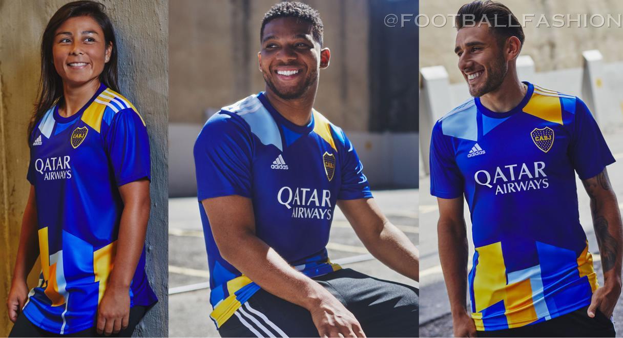 Boca Juniors 2021/22 adidas Third Kit - FOOTBALL FASHION