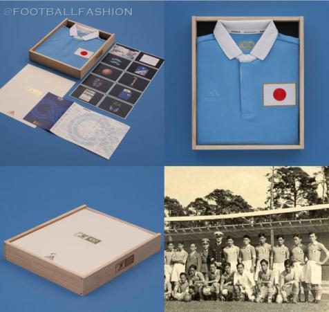 Japan FA 100th Anniversary adidas Football Kit, 2021 Soccer Jersey, Shirt