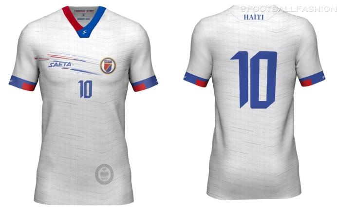 Haiti 2021 2022 Gold Cup Seata Soccer Jersey, 2021-22 Football Kit, 2021/22 Shirt, Maillot 21-22