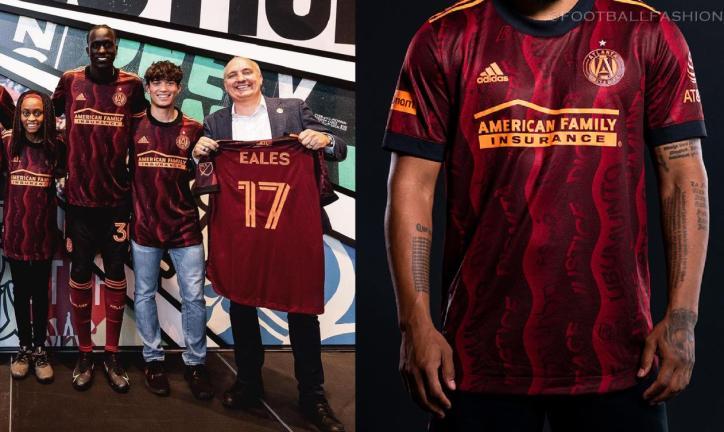 Atlanta United 2021 2022 adidas Third Soccer Jersey, 2021-22 Football Kit, 2021/22 Shirt, Camiseta de Futbol 21/22