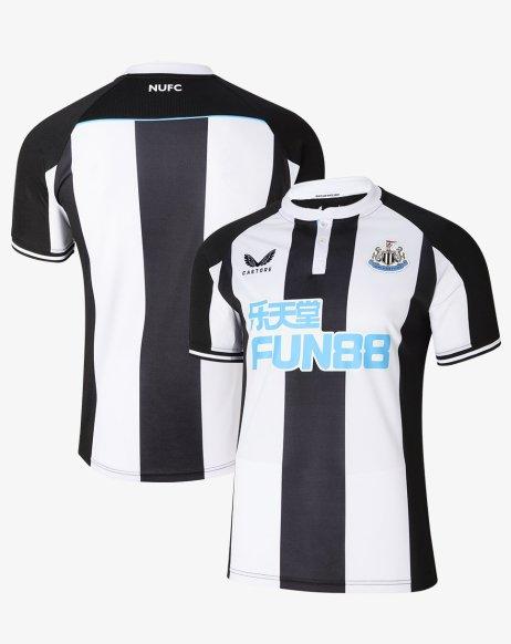 Newcastle United 2021 2022 Castore Home Football Kit, 2021-22 Soccer Jersey, 2021/22 Shirt, Camiseta 21-22, Maillot 21/22, Trikot, Maglia